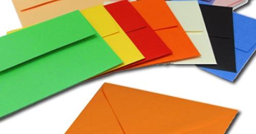 Размеры и форматы бумажных почтовых конвертов