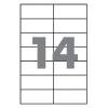 Бумага самоклеющаяся А4 14 шт. 105x42,4 mm 100 листов