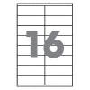 Бумага самоклеющаяся А4 16 шт. 105x37 мм 100 листов