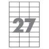 Бумага самоклеющаяся А4 27 шт. 70x31.5 mm 100 листов