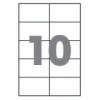 Бумага самоклеющаяся А4 10 шт. 105x57 mm 10 штук 100 листов