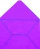 Готовый красивый дизайнерский конверт глициниевый
