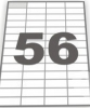 Бумага самоклеящаяся А4 56 штук 52,5х21,5, 100 л.