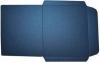 Конверты заготовки перламутровые синие
