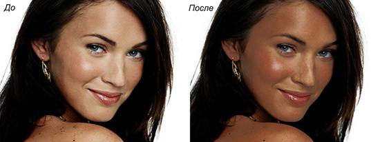 фото до и после солярия
